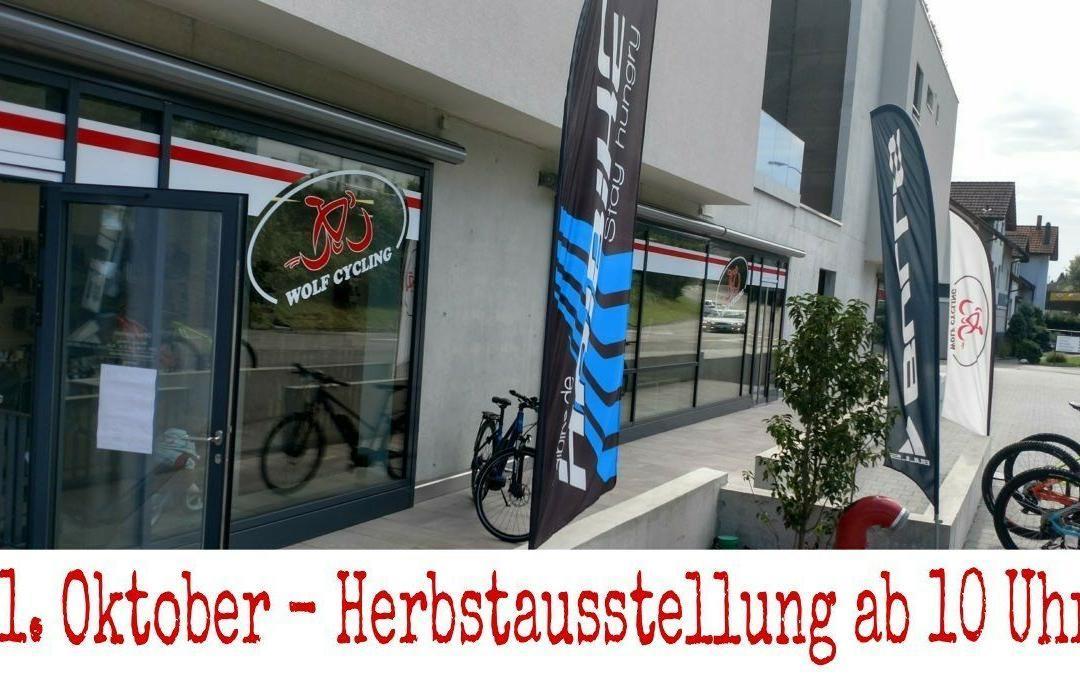 Herbstausstellung bei Wolf Cycling