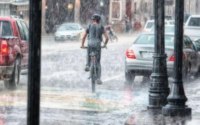 5 Tipps fürs Radfahren bei Regen
