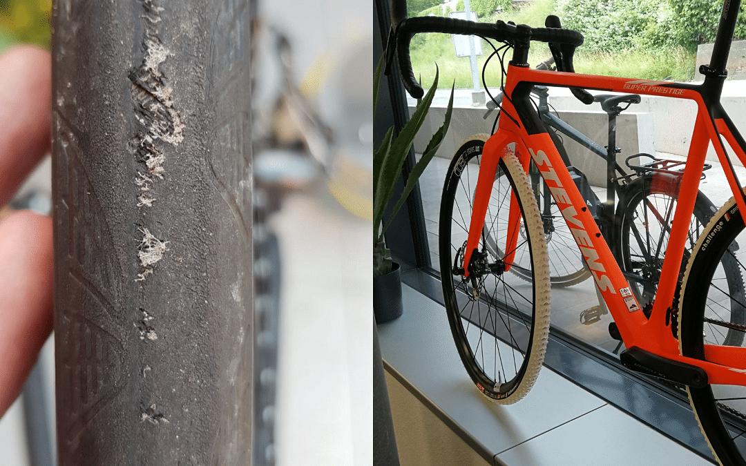 Fahrradreifen wechseln